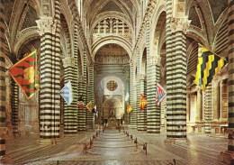 Siena - Duomo - Interno Con Bandiere Delle Contrade - Siena