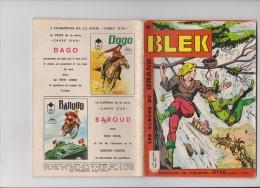 Les Albums Du Grand Blek N° 48, 1965, Rare. - Blek