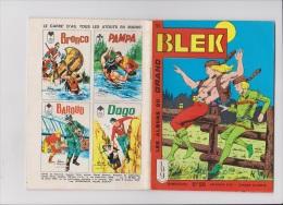 Les Albums Du Grand Blek N° 55, 1965, Rare. - Blek