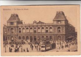 Brussel, Bruxelles, La Gare Du Nord, Tram, Tramway (pk28892) - Spoorwegen, Stations