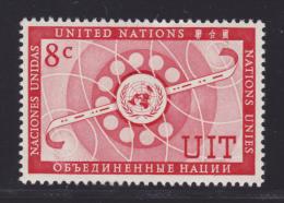 NATIONS UNIES NEW-YORK N°   41 ** MNH Neuf Sans Charnière, TB  (D1317) - Ungebraucht
