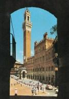 Siena - Palazzo Pubblico Visto Dall´Arco Del Barcello - Siena