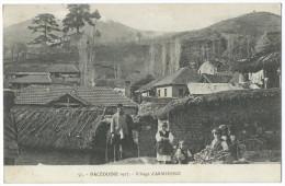 MACÉDOINE - Village D'Armensko En 1917 - Animée - Gros Plan - Macedonia