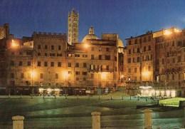 Siena - Notturno Di Piazza Del Campo - Siena