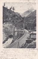 Italien 1907 - Gossensass Wassertunnel Brennerbahn - Gelaufen Nach Weidenbach - Italien