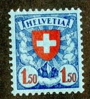 8977  Swiss  1924  Michel # 196x*  ( Cat. 50.€ ) - Svizzera