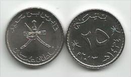Oman 25 Baisa Baiza Baisas 2013. - Oman