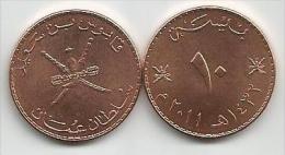 Oman 10 Baisa Baiza Baisas 2011. - Oman
