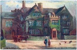 The Peacock Hotel Rowsley - Raphael Tuck & Sons 1683 -  United Kingdom - Derbyshire