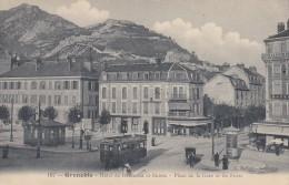 20Q - 38 - Grenoble - Isère - Hôtel De Bordeaux Et Suisse - Place De La Gare Et Les Forts - Baffert N° 167 - Grenoble