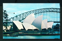 AUSTRALIA  -  Sydney Opera House  Unused Postcard - Sydney