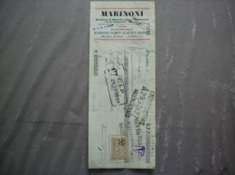 PARIS MARINONI-VOIRIN-ALAUZET-DERRIEY MACHINES ET MATERIEL POUR L'IMPRIMERIE 96 RUE D'ASSAS TRAITE DU 7 AVRIL 1924 - 1900 – 1949