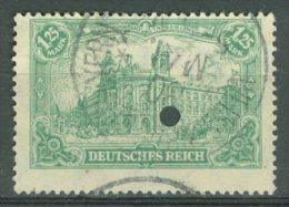 DEUTSCHES REICH 1920: Mi 113 / YT 113, O - KOSTENLOSER VERSAND AB 10 EURO - Germania