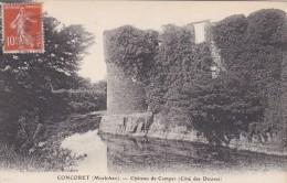 20Q - 56 - Concoret - Morbihan - Château De Comper (Côté Des Douves) - J. Sorel - Frankrijk