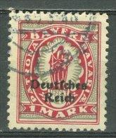 DEUTSCHES REICH 1920-21: Mi 129 / YT Bavière 206, O - KOSTENLOSER VERSAND AB 10 EURO - Germania