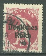 DEUTSCHES REICH 1920-21: Mi 127 / YT Bavière 204, O - KOSTENLOSER VERSAND AB 10 EURO - Germania