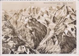 (CH250) DIE BERNINA GRUPPE AUS DER VOGELSCHAU - Switzerland