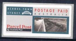 1991 Parcel Post Across Town Sydney Australia + FOLDER - 1990-99 Elizabeth II