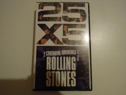 25X5 - The Continuing Adventures Of The Rolling Stones - Cmv 49027 2 - Video Tapes (VHS)