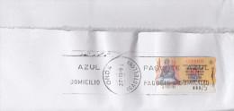 F. Sello Valor Variable. Atms. Svv. Carta Grande Con Atms ONDA 27.NOV.1998. Rodillo Onda. - ATM - Frama (viñetas)