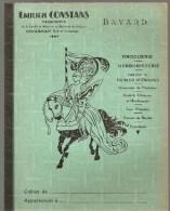 Protège Cahier EMILIEN CONSTANS Herboriste à COCUMONT (Lot Et Garonne), Des Années 1960 Environ Couleur Vert - Protège-cahiers