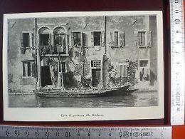 IL1928/13 Casa Di Pescatore Alla Giudecca - Ohne Zuordnung