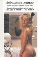 CALENDRIER De POCHE -  EROTIQUE SEXY - ANNEE 1989 - JEAN LAVIGNE - Calendriers