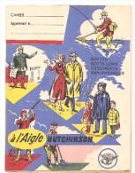 Protège Cahier HUTCHISON à L'Aigle HUTCHISON Bottes, Bottillons, Vêtements Imperméables  Des Années 1960 Environ - Protège-cahiers