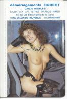 CALENDRIER De POCHE -  EROTIQUE SEXY - ANNEE 1991 - JEAN LAVIGNE - Calendriers