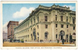 Federal Building Post Office, San Francisco, California - Postal Services