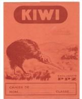 Protège Cahier KIWI Exclusiviré PPZ, Des Années 1960 Environ (Petits Propos Zoologiques) - Protège-cahiers