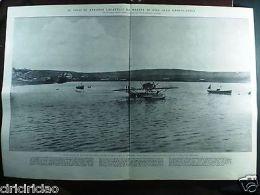 IL1924/29 Volo Di Antonio Locatelli Da Marina Di Pisa Alla Groenlandia 38x56cm - Ohne Zuordnung