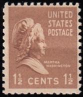 UNITED STATES - Scott #805 Martha Washington (*) / Mint NH Stamp - Verenigde Staten
