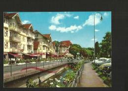 Cpm St000928 Herrenalb, Rue Commerçante Et Rivière , Kurpromenade - Bad Herrenalb