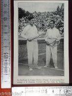 IL1928/4 Tennis, Finali Di Coppa Davis A Parigi, L'americano Hennessey E Cochet - Ohne Zuordnung
