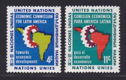 NATIONS UNIES NEW-YORK N°   89 & 90 * MLH Neufs Avec Charnière, TB  (D1330) - New-York - Siège De L'ONU