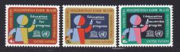 NATIONS UNIES NEW-YORK N°  130 à 132 * MLH Neufs Avec Charnière, TB  (D1340) - New-York - Siège De L'ONU