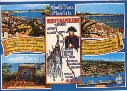 Napoléon.. Route Napoléon Golfe Juan Belle Multi-vues - Historische Figuren