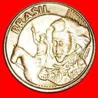 ★HORSE AND SOUTHERN CROSS: BRAZIL ★ 10 CENTAVOS 2010! LOW START★NO RESERVE! Pedro I (1798-1834) - Brésil