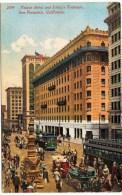 Palace Hotel and Lotta's Fountain, San Francisco, Calif 1912
