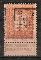 PELLENS Type Cijfer Nr. 108 Voorafgestempeld Nr. 2155A KORTRIJK 1913 COURTRAI  ; Staat Zie Scan ! Inzet Aan 5 € ! - Roller Precancels 1910-19