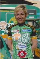Women Cycling Photo MARIANNA LORENZONI Team USC Chirio Forno D'Asolo 2006 Italy - Ciclismo