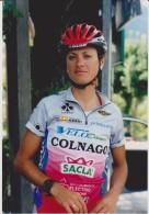 Women Cycling Photo VALENTINA POLKHANOVA Team VELODAMES COLNAGO 2003 Russia - Ciclismo