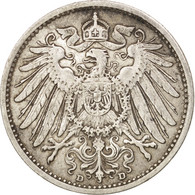 GERMANY - EMPIRE, Wilhelm II, Mark, 1909, TTB+, Argent, KM:14 - [ 2] 1871-1918: Deutsches Kaiserreich