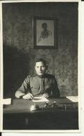 KINGDOM OF YUGOSLAVIA, SERBIA   --  ORIGINAL PHOTO    --   OFFICER --  13,5  Cm  X 8 Cm - Militaria