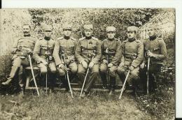 KINGDOM OF YUGOSLAVIA, SERBIA   --  ORIGINAL PHOTO    --   SERBIAN ARMY, OFFICERS, SABEL  --  14  Cm  X 9 Cm - Militaria