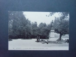 Dep 74  Annecy  Le Jardin Public Et Monument De Bertholet - Unclassified