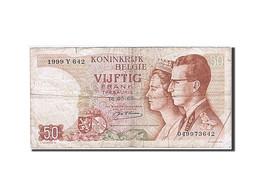 Belgique, 50 Francs, 1964-1966, KM:139, 1966-05-16, TB - [ 2] 1831-... : Royaume De Belgique
