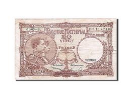 Belgique, 20 Francs, 1948, KM:116, 1948-09-01, TB - [ 2] 1831-... : Royaume De Belgique