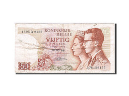 Belgique, 50 Francs, 1964-1966, KM:139, 1966-05-16, TTB - [ 2] 1831-... : Reino De Bélgica